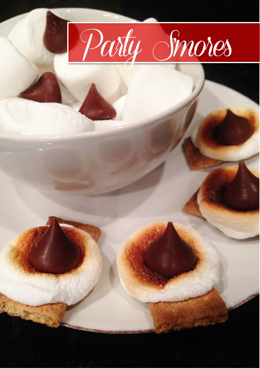 Oven s'mores by Hi Lovely - DIY party snacks, perfect for holiday ...