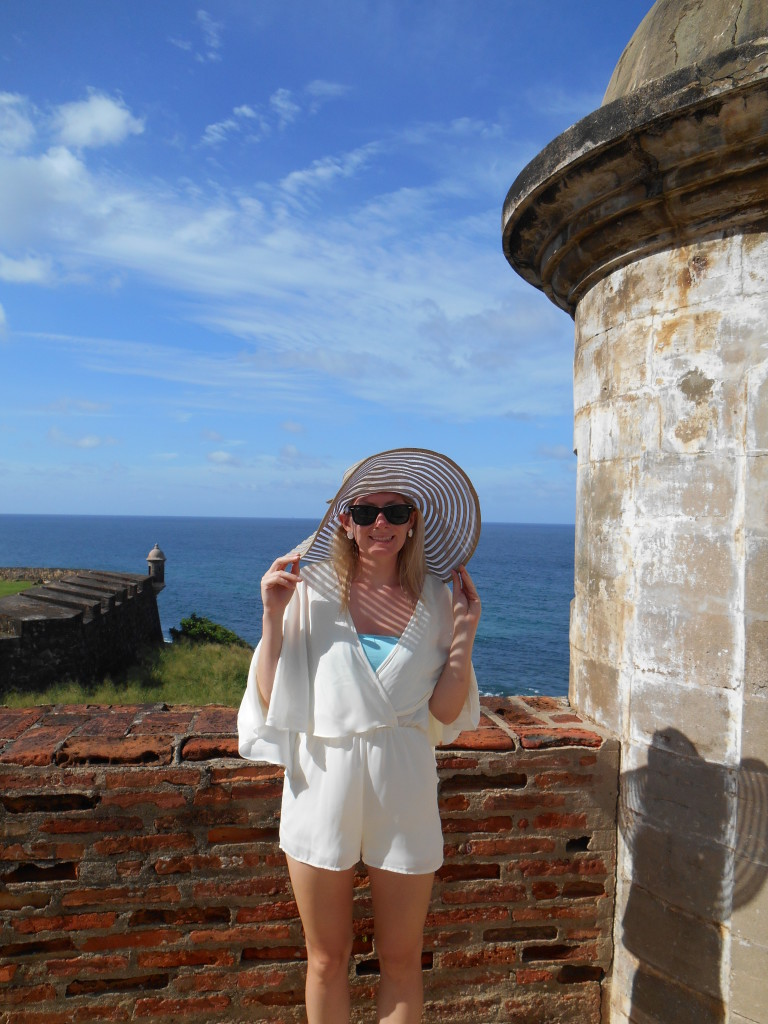 Hi Lovely in Old San Juan
