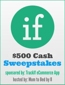 TrackIf $500 Cash Giveaway | Hi Lovely