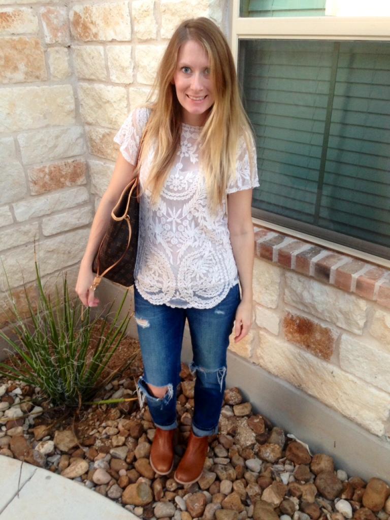 16 week pregnancy style | Hi Lovely