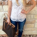 Lace and Boots Pregnancy Style