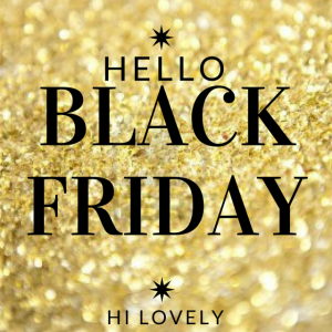 Black Friday Shopping with Codes | Hi Lovely!