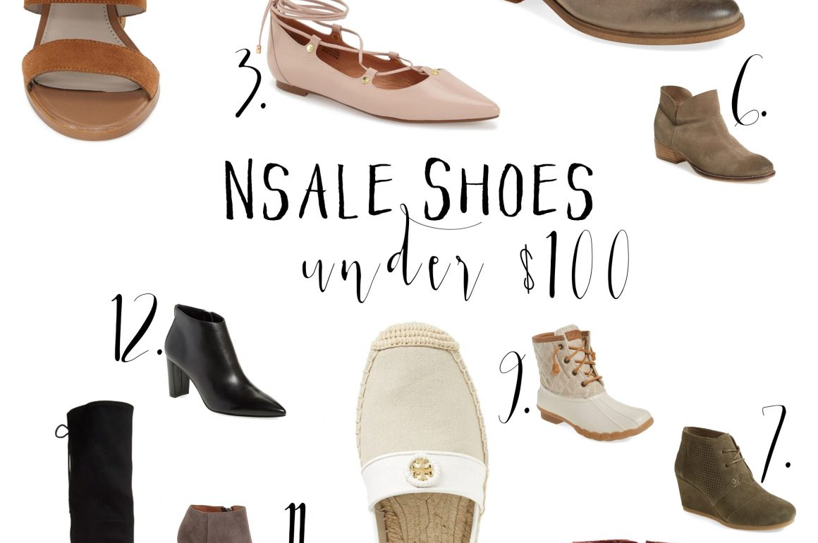 Hi Lovely | Nordstrom Anniversary Sale Shoes Under $100