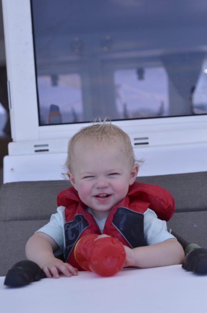 Sailing with a Toddler | Hi Lovely | British Virgin Islands