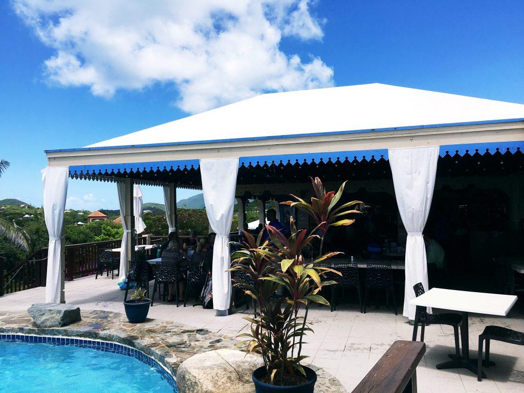 Top of the Baths of Virgin Gorda | Hi Lovely | British Virgin Islands