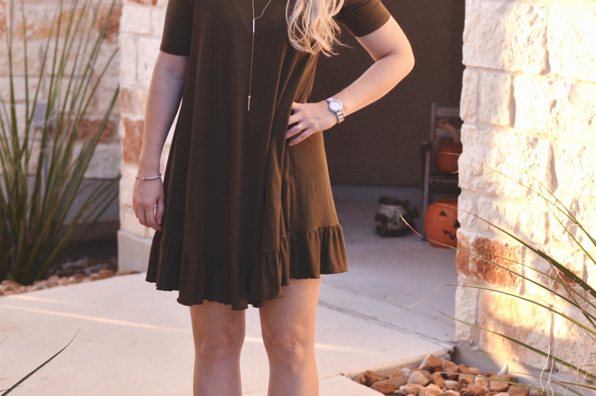 Shop Stevie Olive Dress | Hi Lovely