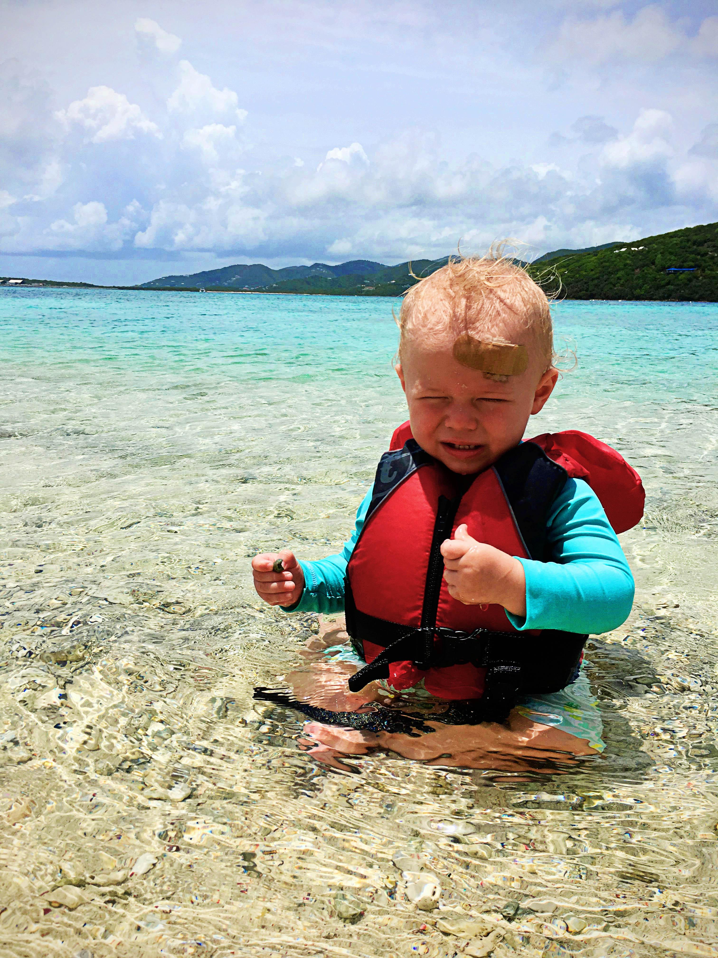 Sailing with Baby, Marina Cay | Sailing British Virgin Islands Itinerary | Hi Lovely