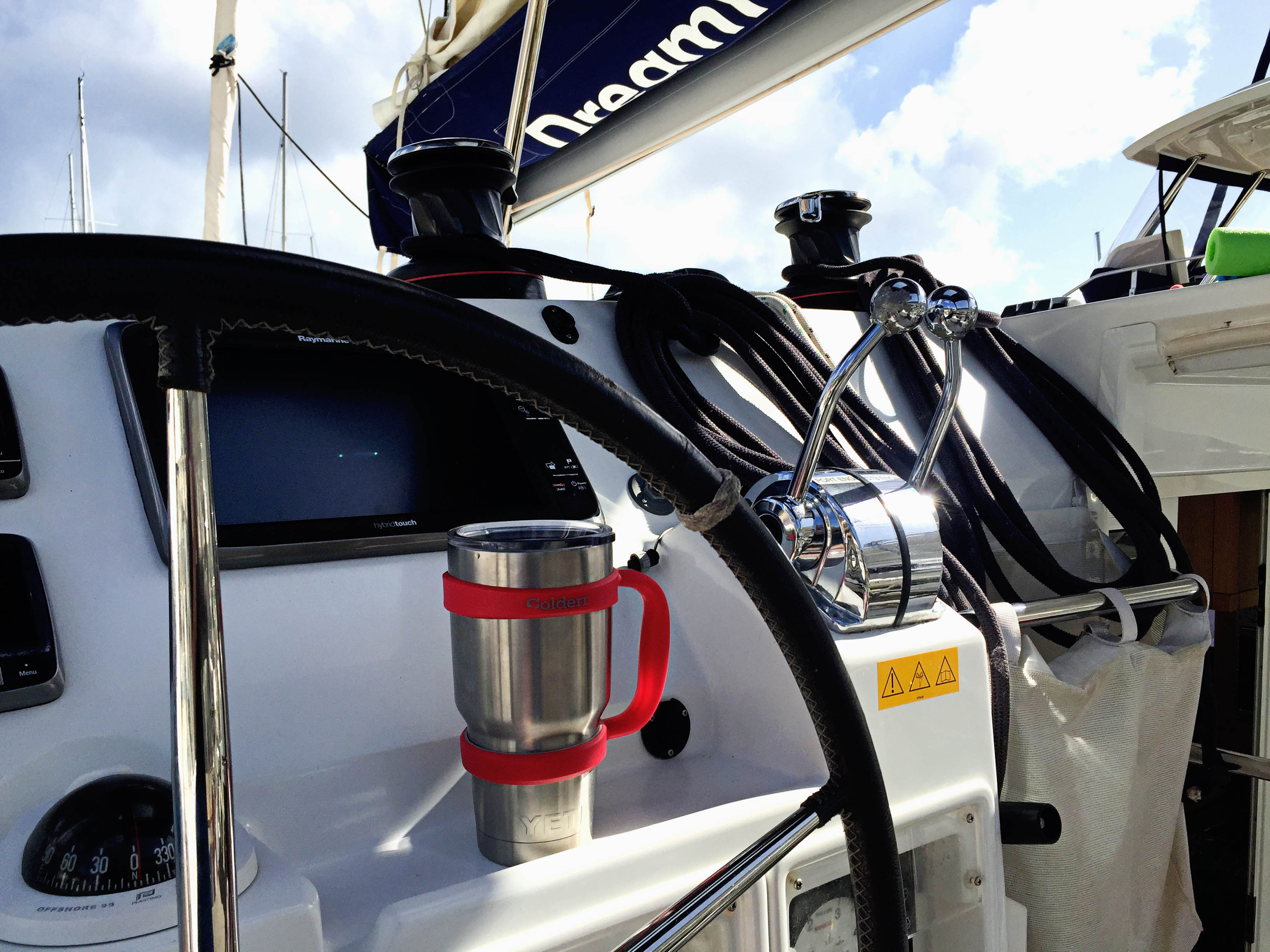 Colderr YETI handle | Sailing British Virgin Islands Itinerary | Hi Lovely