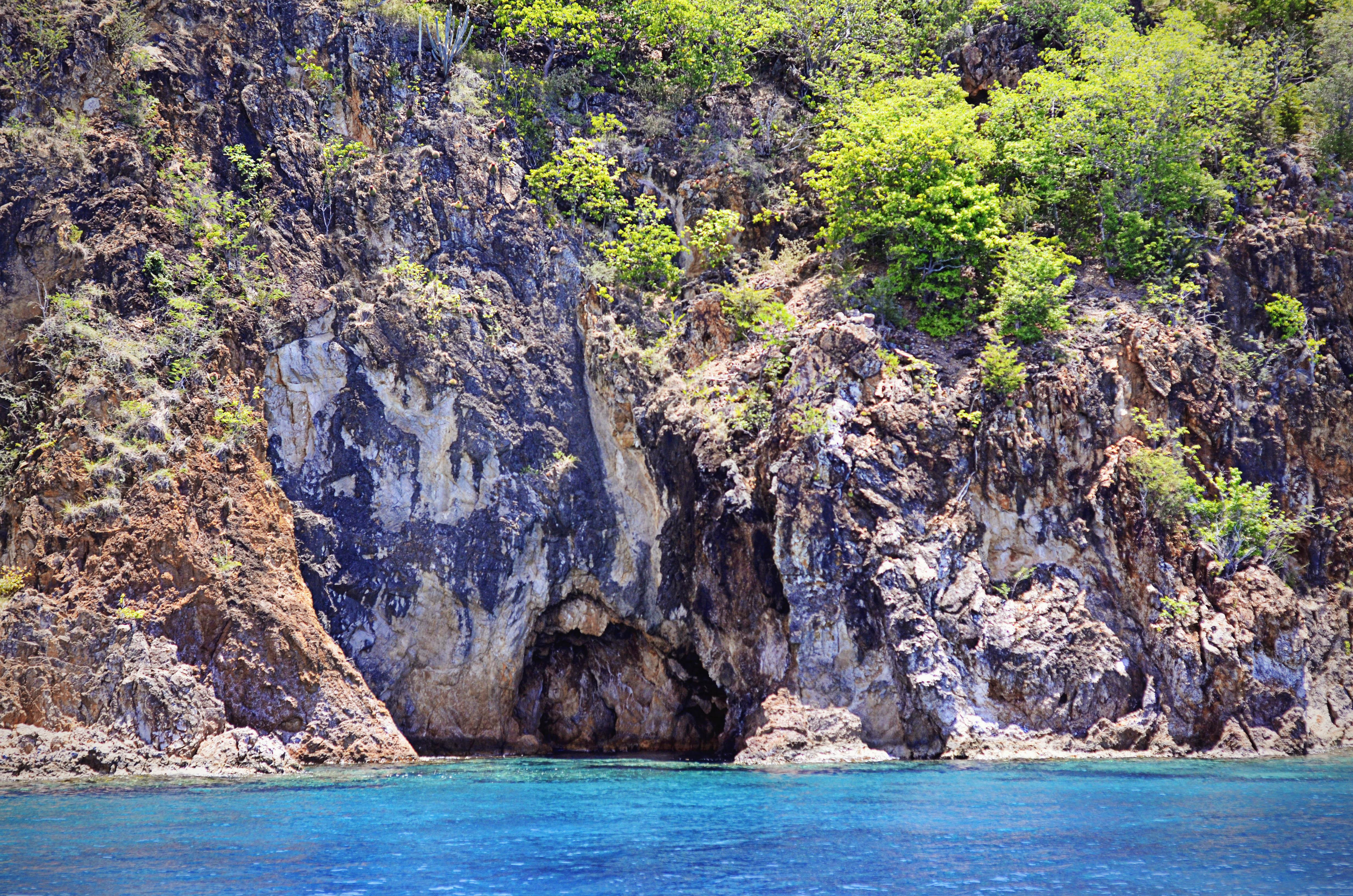 Norman Island caves | Sailing British Virgin Islands Itinerary | Hi Lovely