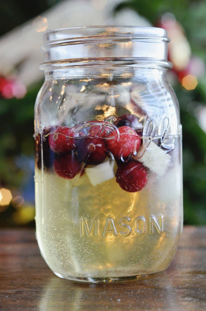 Christmas Sangria   Holiday Cocktails   Hi Lovely
