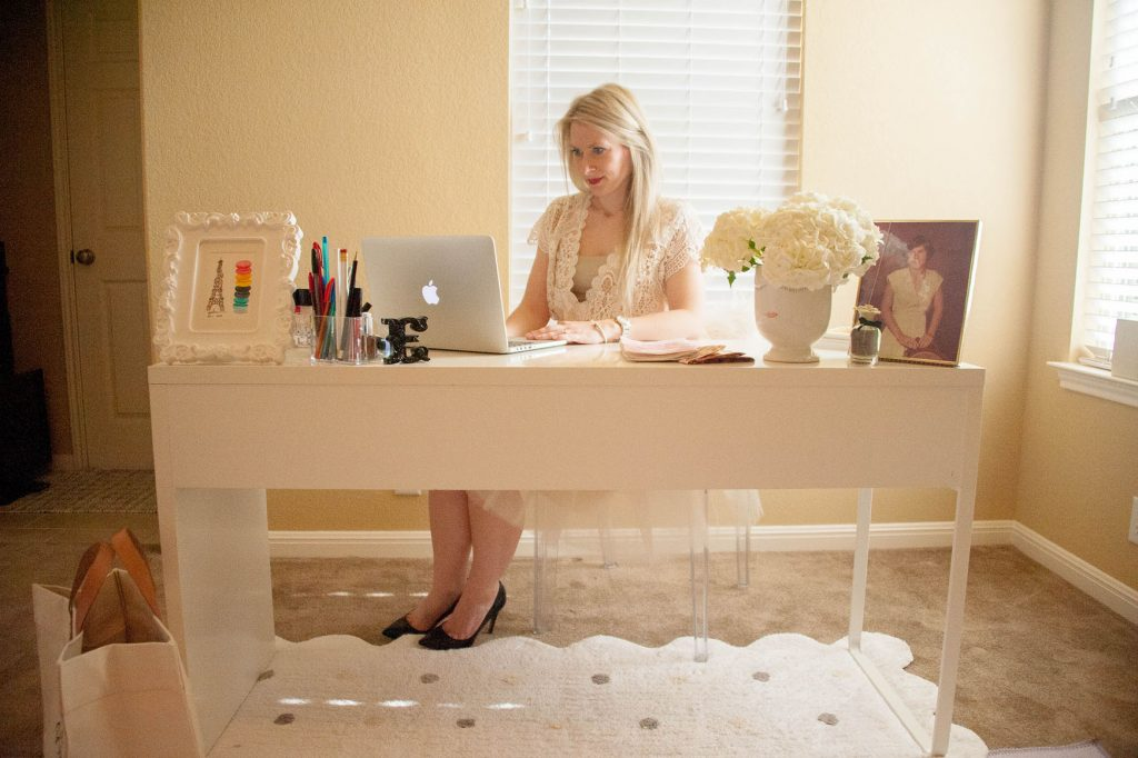 Hi Lovely | Blogger | Office Reveal