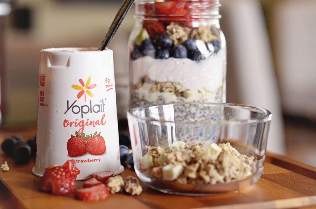 Yoplait Breakfast Parfait | Hi Lovely