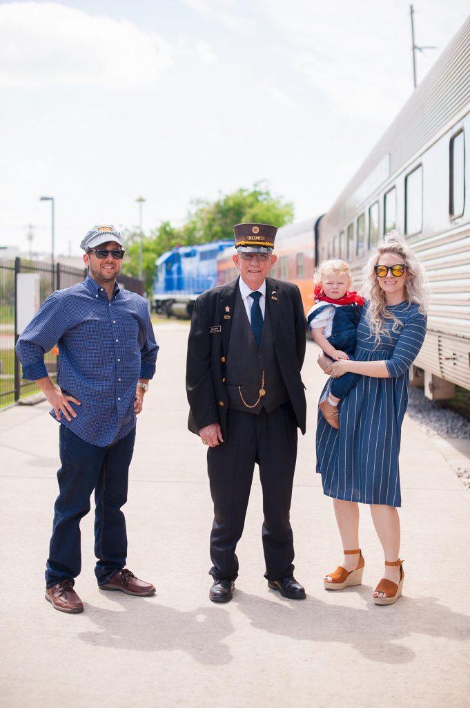 Austin Steam Train | Train Birthday Party | Hi Lovely