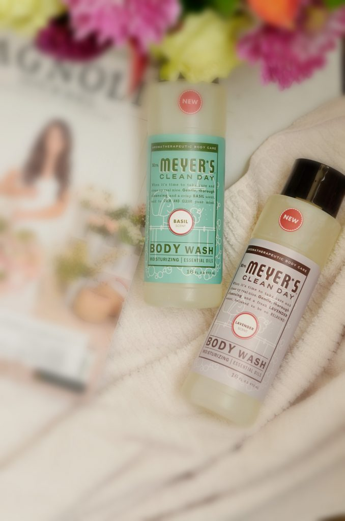 Relaxation with Mrs. Meyer's Body Wash | Hi Lovely