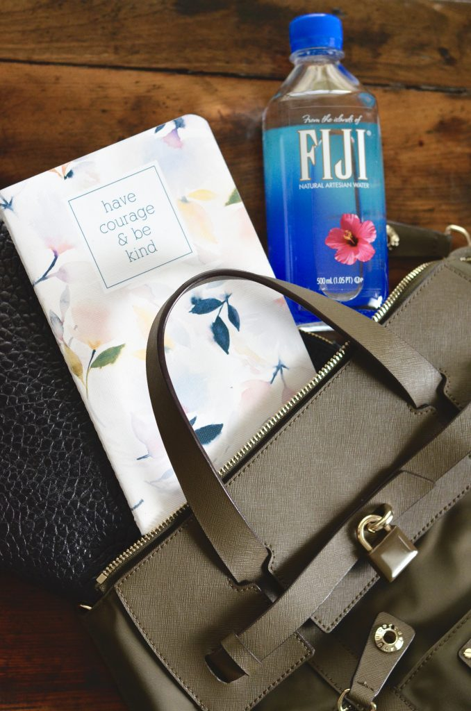 What's in My Bag | FIJI Water Delivery | Not a Diaper Bag | Hi Lovely