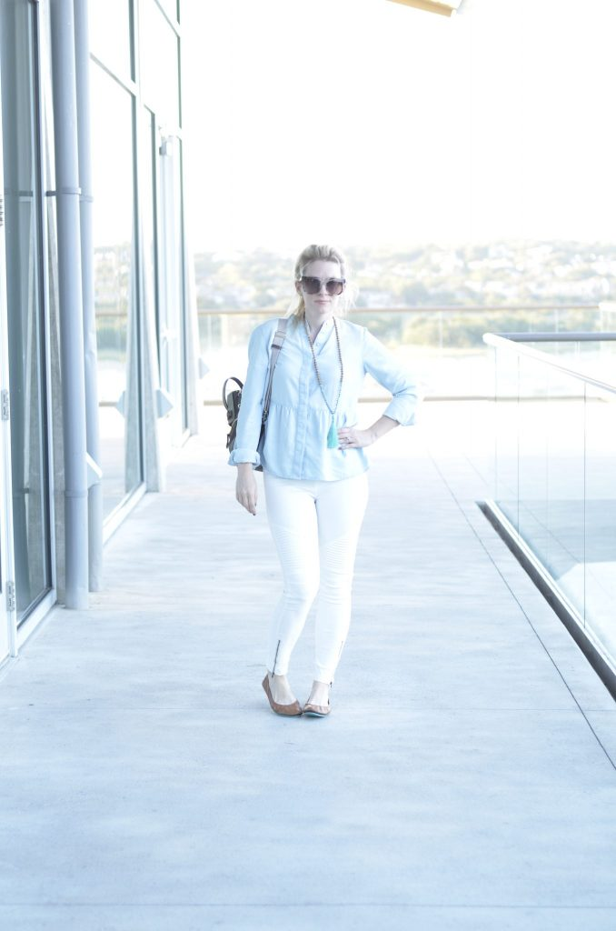 Wear White Year Round | Transition Whites into Fall | Hi Lovely