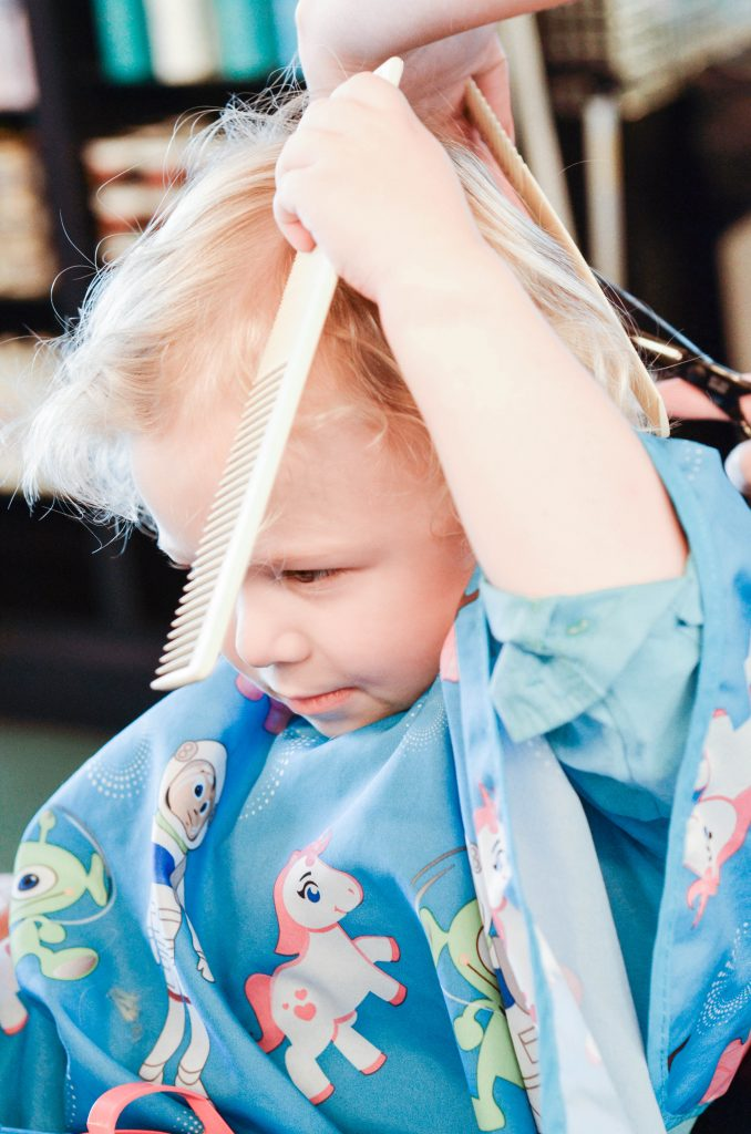 First Haircut | Austin | Bird's Barbershop | Baby's First Haircut