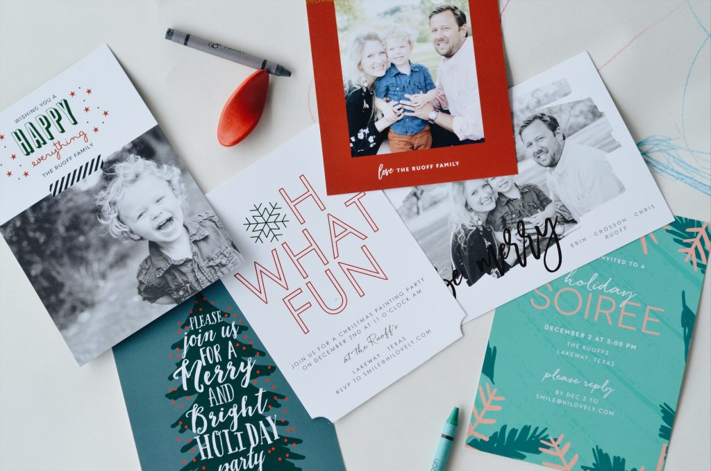 Basic Invite | Christmas Cards and Holiday Invitations | Hi Lovely