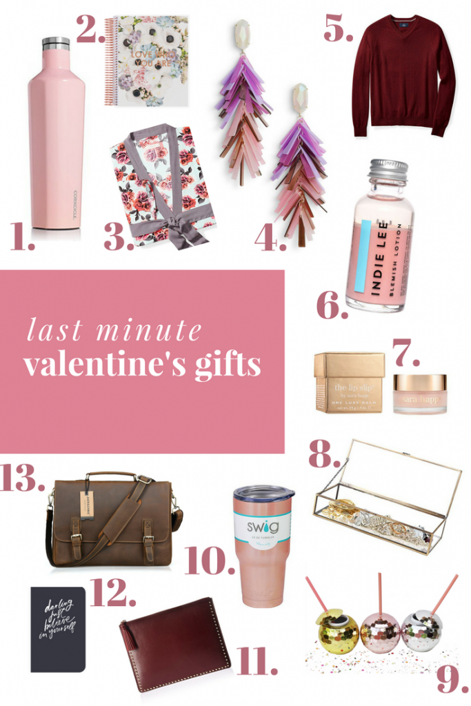 Last Minute Valentine's Day Gifts | Hi Lovely